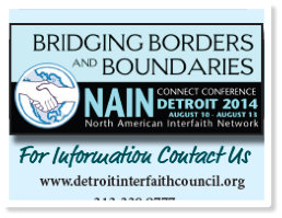 """From Hate to Hope"", facilitated by Brenda Rosenberg at Bridging Borders and Boundaries, a NAIN Connect Conference August 10-14, 2014"